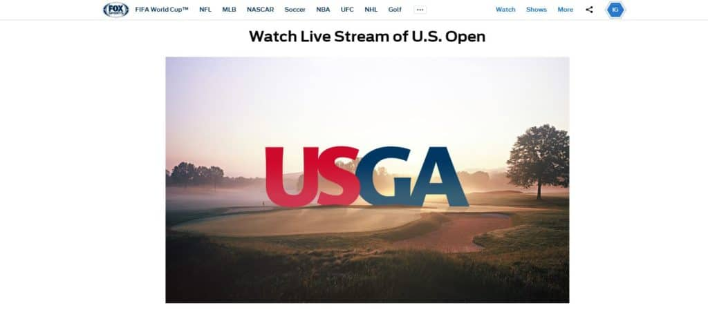 How to watch the 2018 US Open on Fox Sports