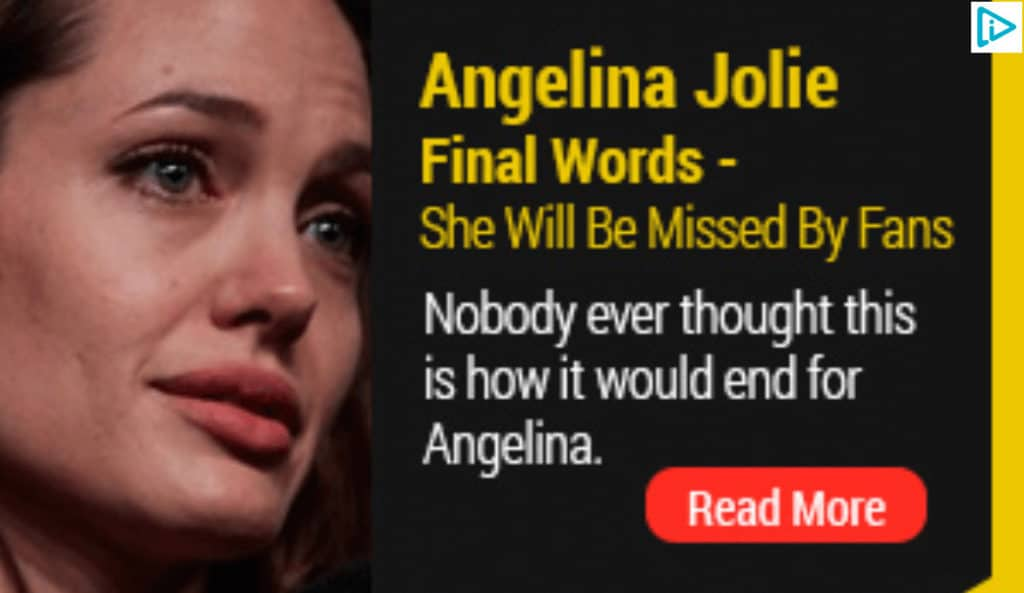 Angelina Jolie clickbait title.