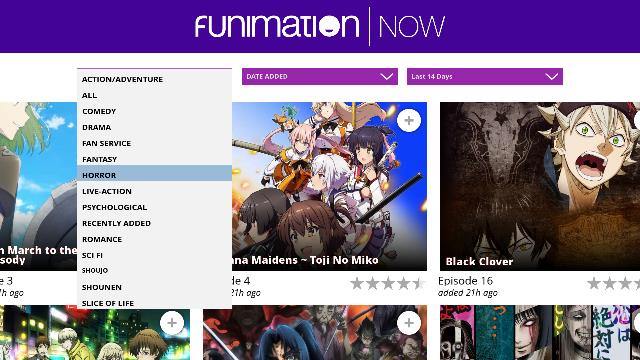 FunimationNOW Kodi addon: Use