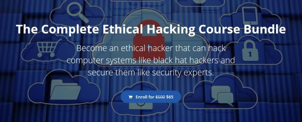 StationX online ethical hacking course.