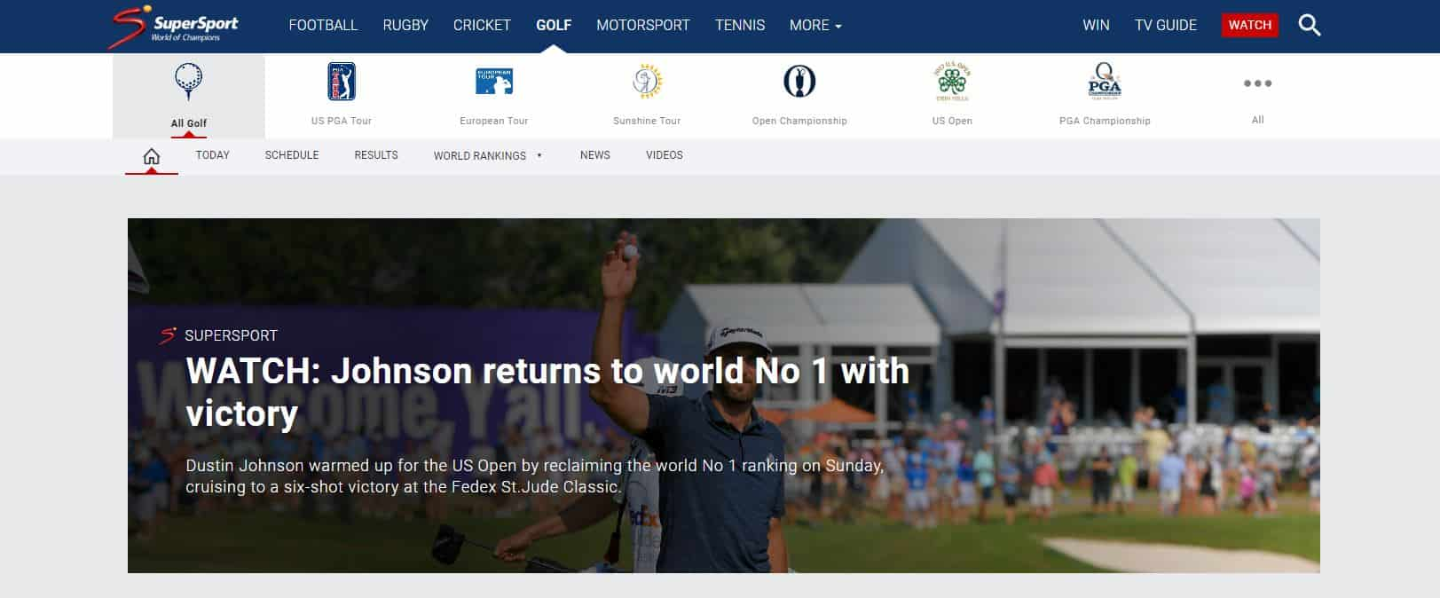 How to Watch US Open Golf Online: Stream Live from Anywhere