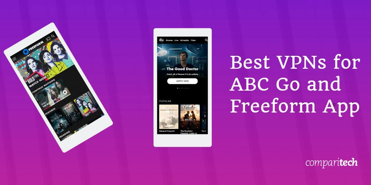 Best VPNs for ABC and Freeform app