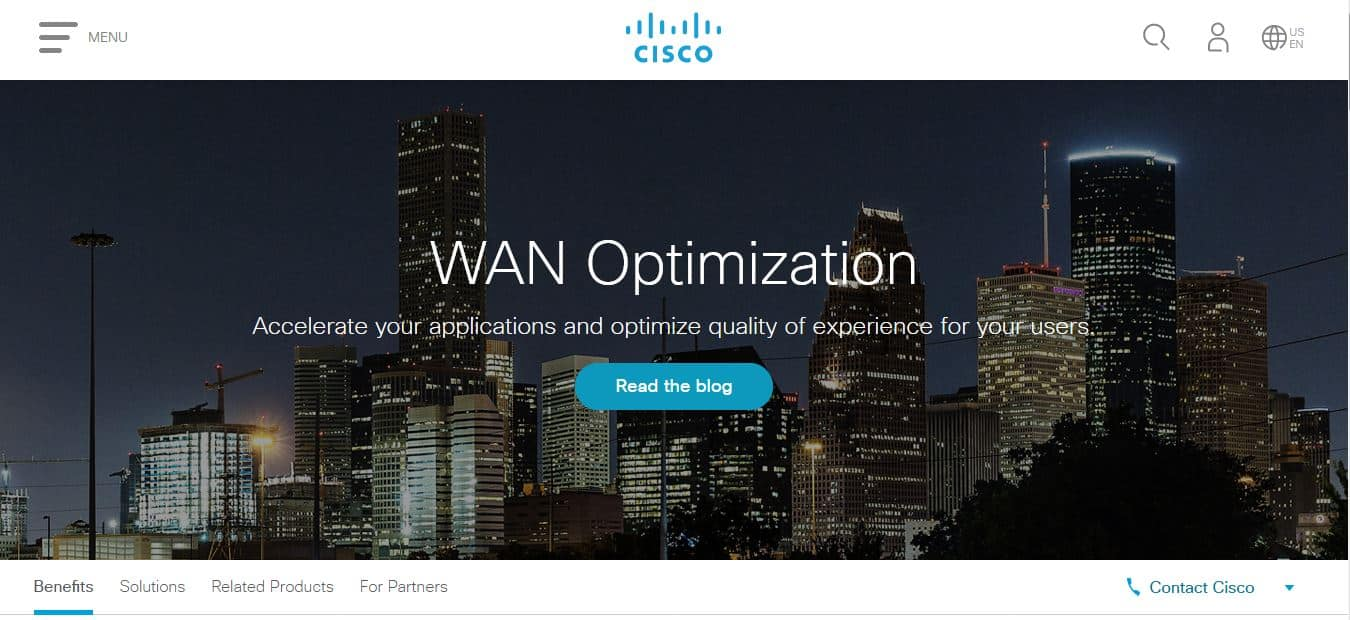 Cisco WAN optimization tools