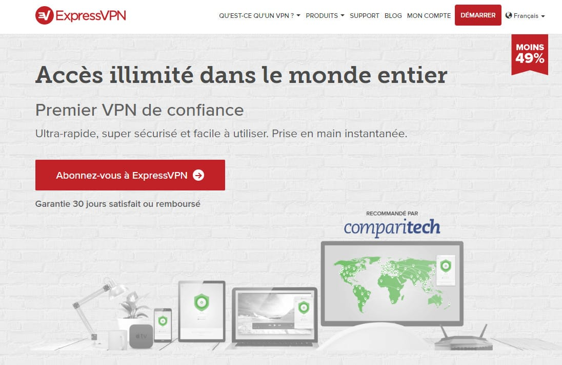 ExpressVPN french