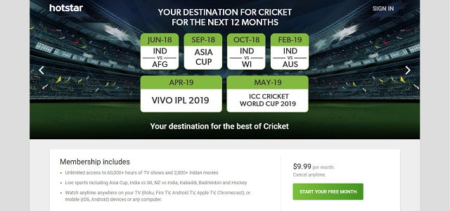 5 Best VPNs for Star Sports in 2019 to access abroad (outside India)