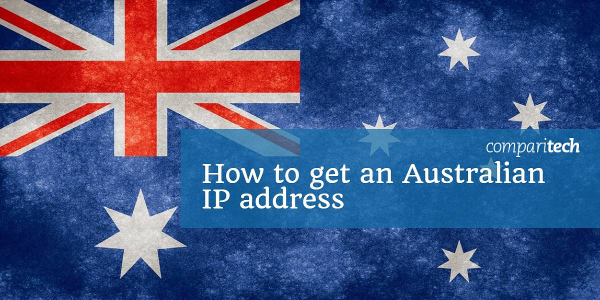 how to change ip address to australia