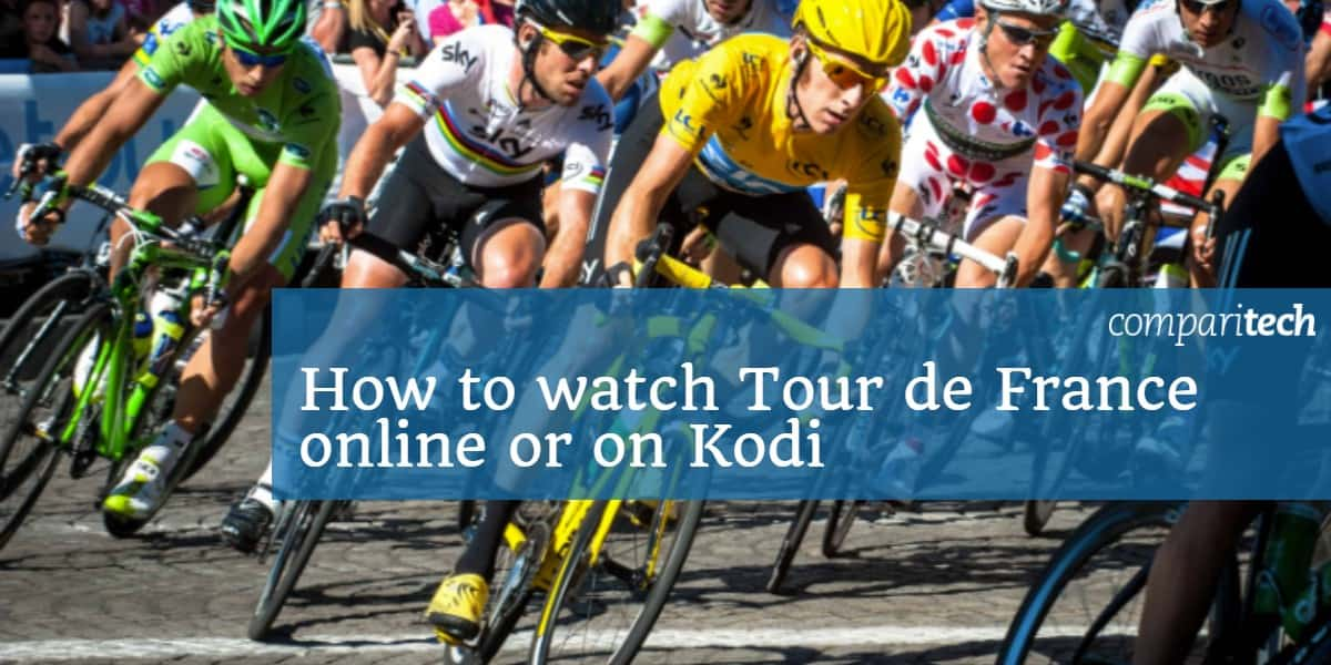 How to watch Tour de France online or on Kodi