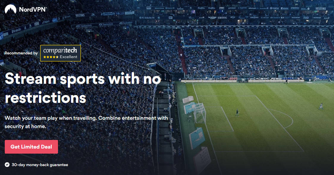 NordVPN stream sports