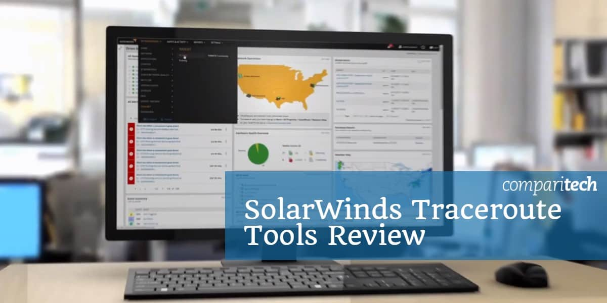 SolarWinds Traceroute Tools Review