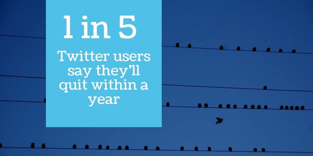 Quit Twitter