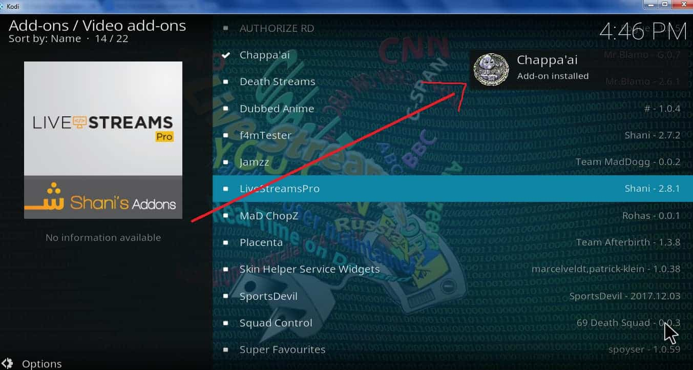 How to install and use the Chappa'ai Kodi addon | Comparitech