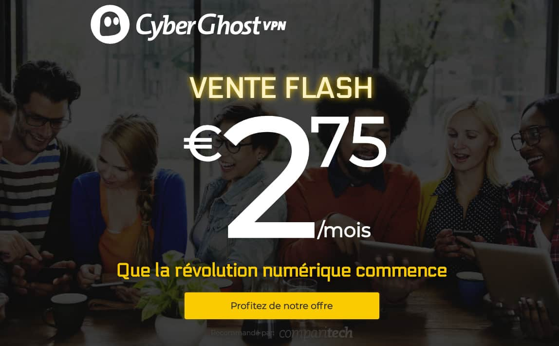 cyberghostvpn french
