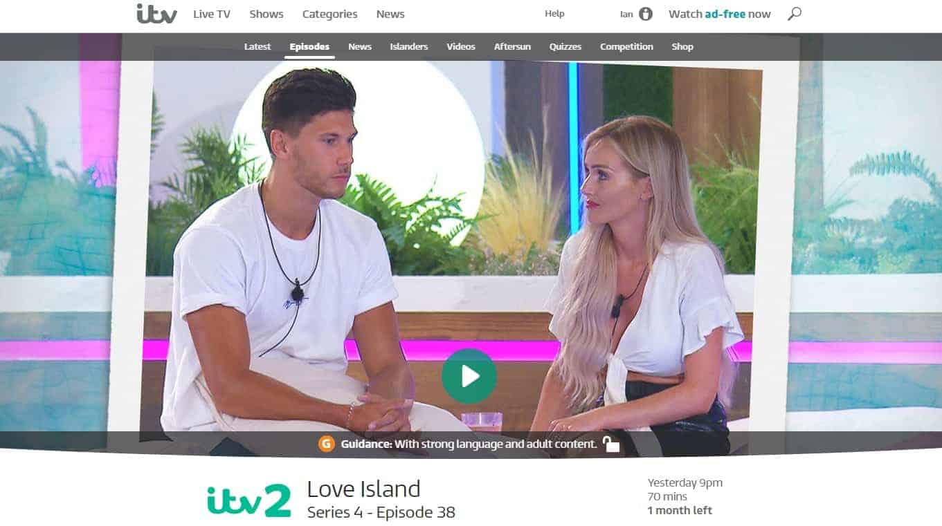 how to watch Love Island online for free