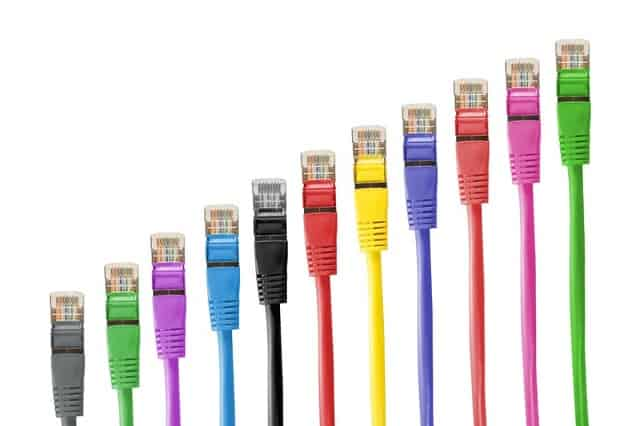 Network cable colors