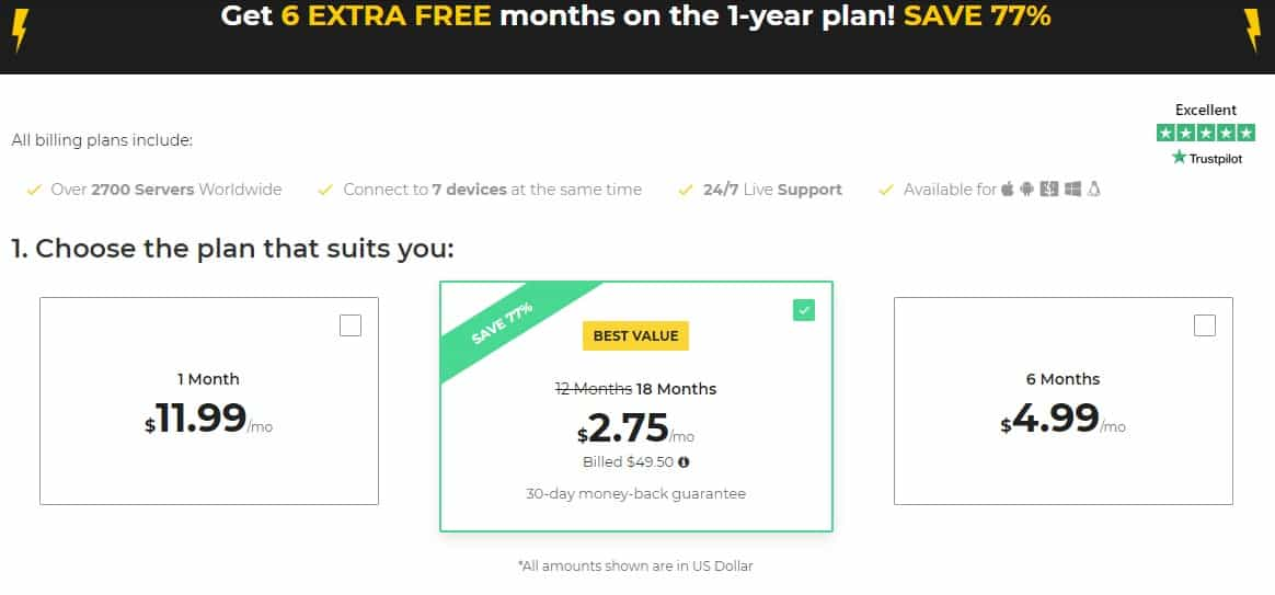 cyberghostvpn prices annual plan