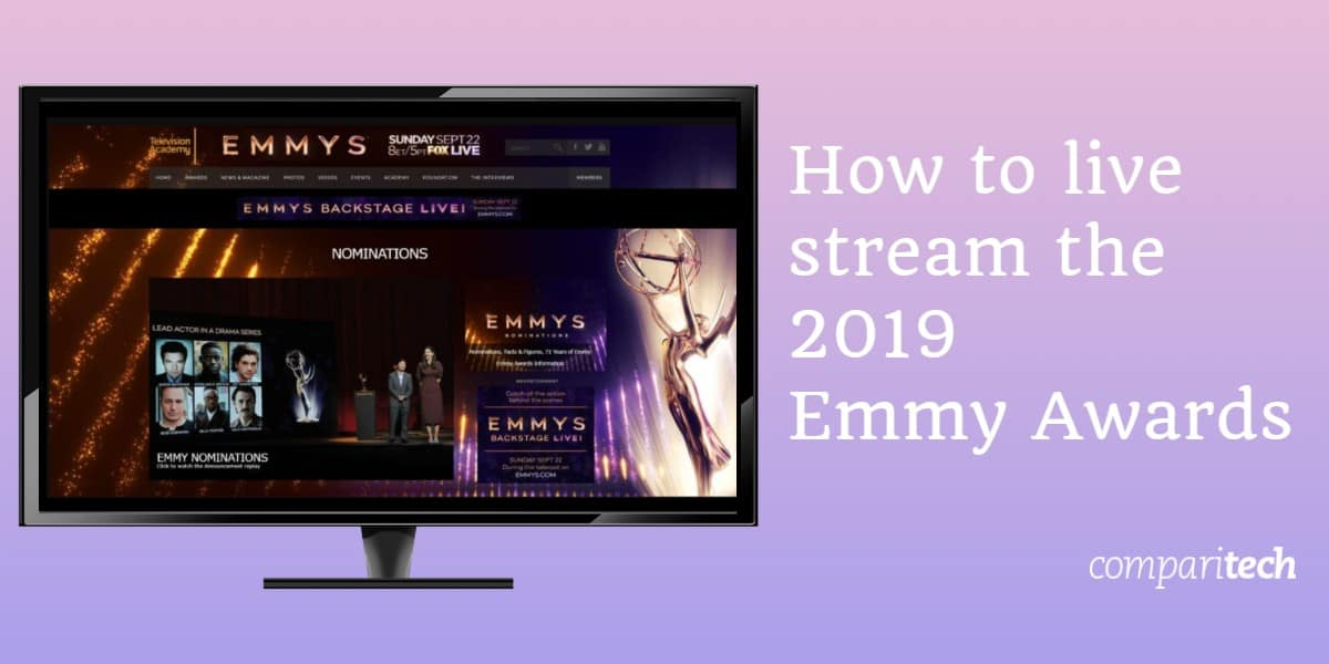 How to live stream the 2019 Emmy Awards