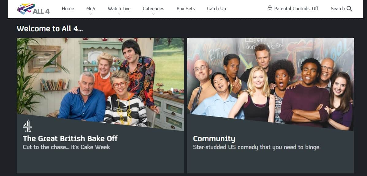 How to stream Channel 4 (All 4) online from abroad