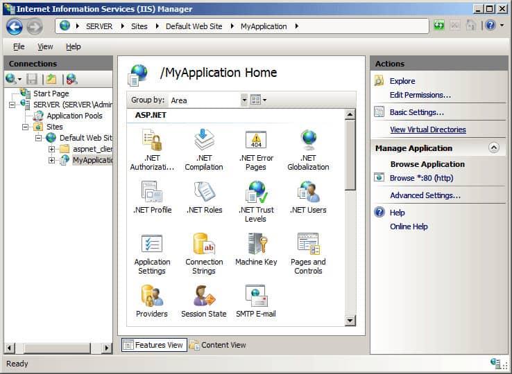 IIS Directory Screenshot