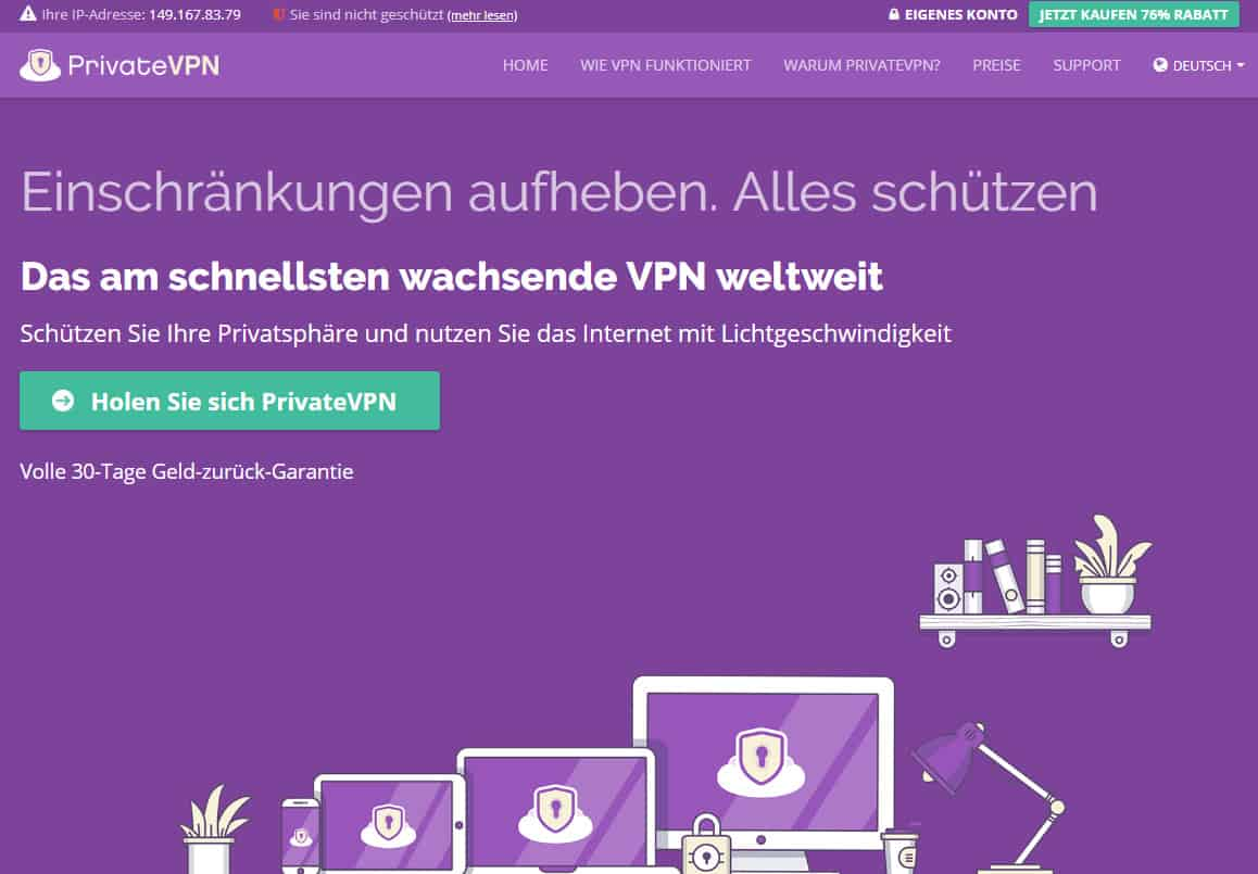 PrivateVPN Germany