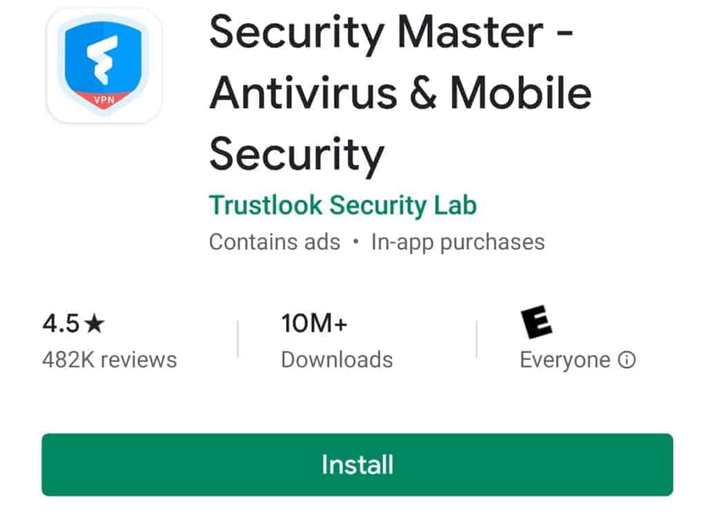 security master best android antivirus