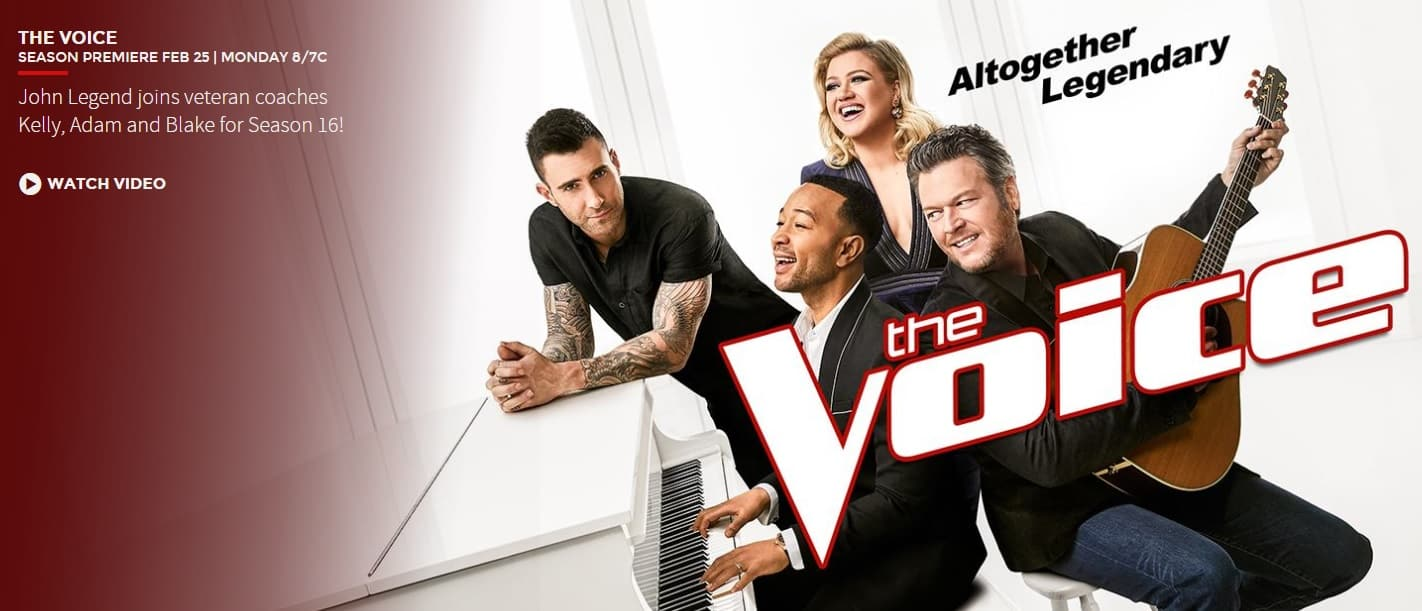 The Voice cast 2019