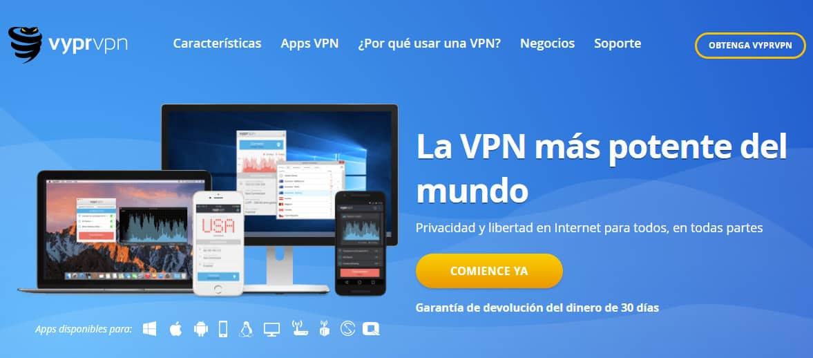 VyperVPN Spain