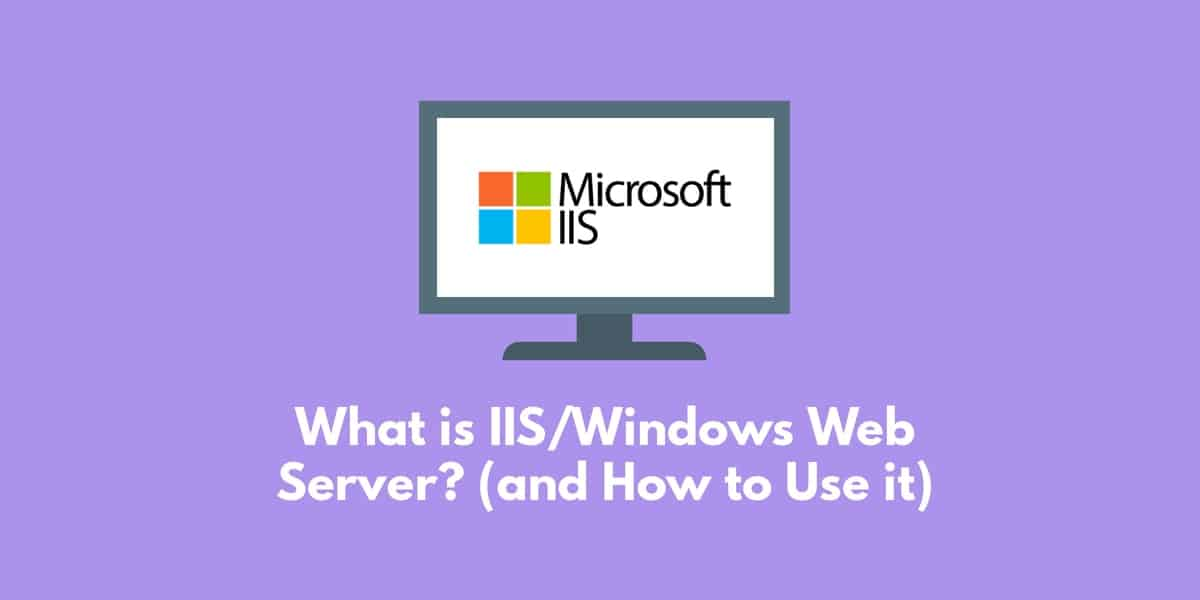 What is IIS/Windows Web Server? How to Use It and the Best Tools