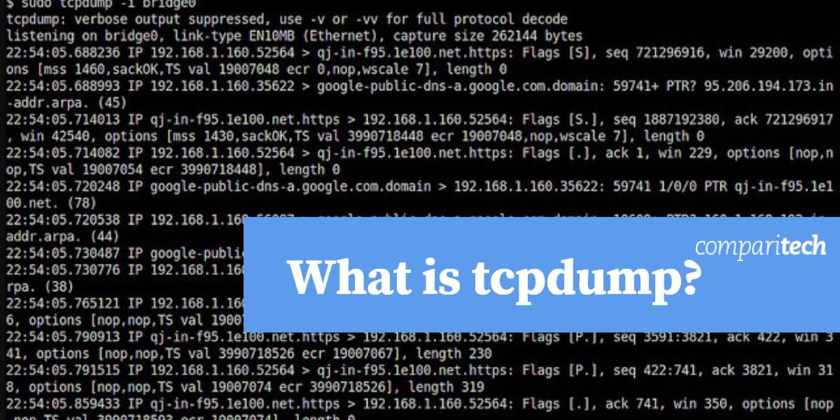 What is tcpdump