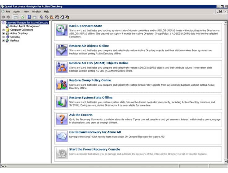recovery-manager-for-active-directory-screenshot-1