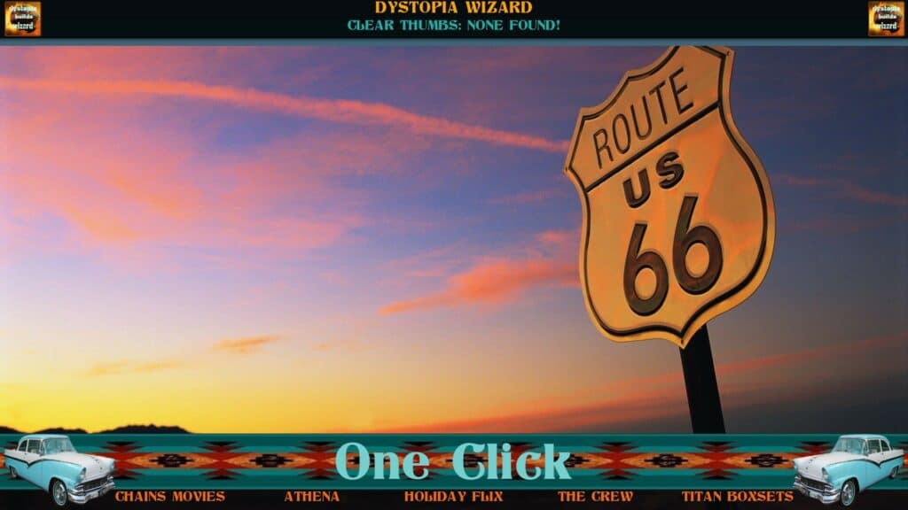 Route 66 Kodi build