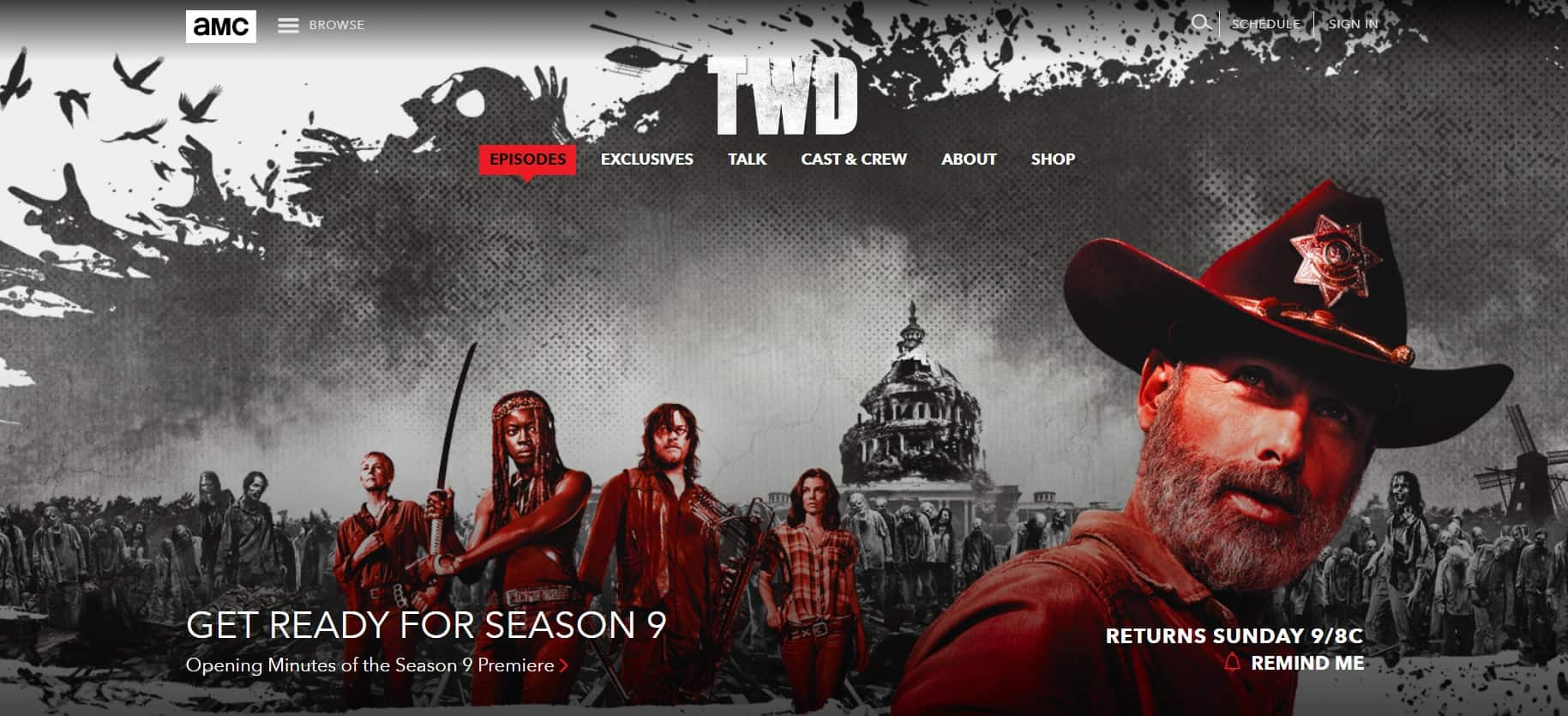 How to watch AMC The Walking Dead online