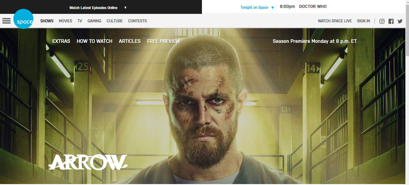 How to watch Arrow Season 7 free online abroad (outside the