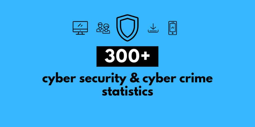 300+ Terrifying Cybercrime & Cybersecurity Statistics [2019 EDITION]