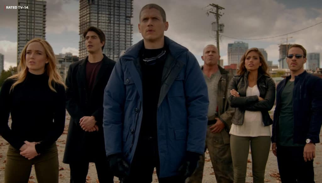 DC's Legends of Tomorrow featured