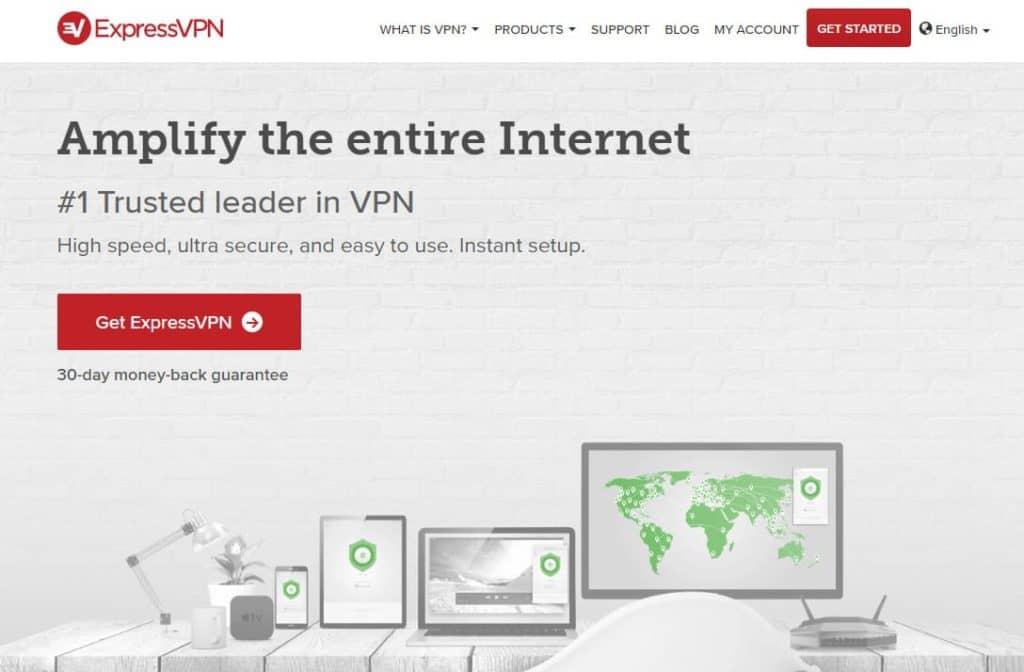 ExpressVPN amplify