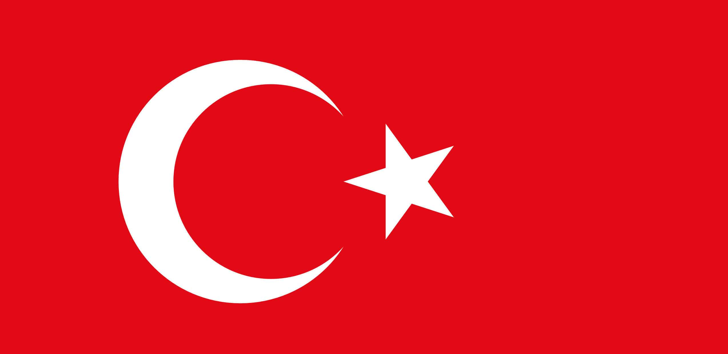 Flag of Turkey - Turkish