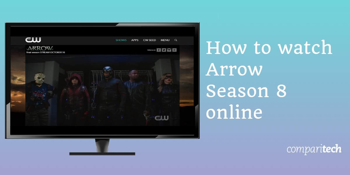 How to watch Arrow Season 8 online