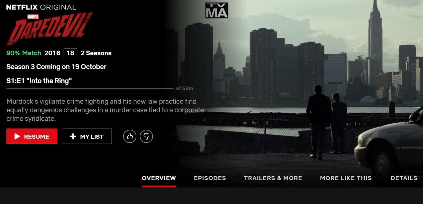 How to watch Daredevil season 3 online