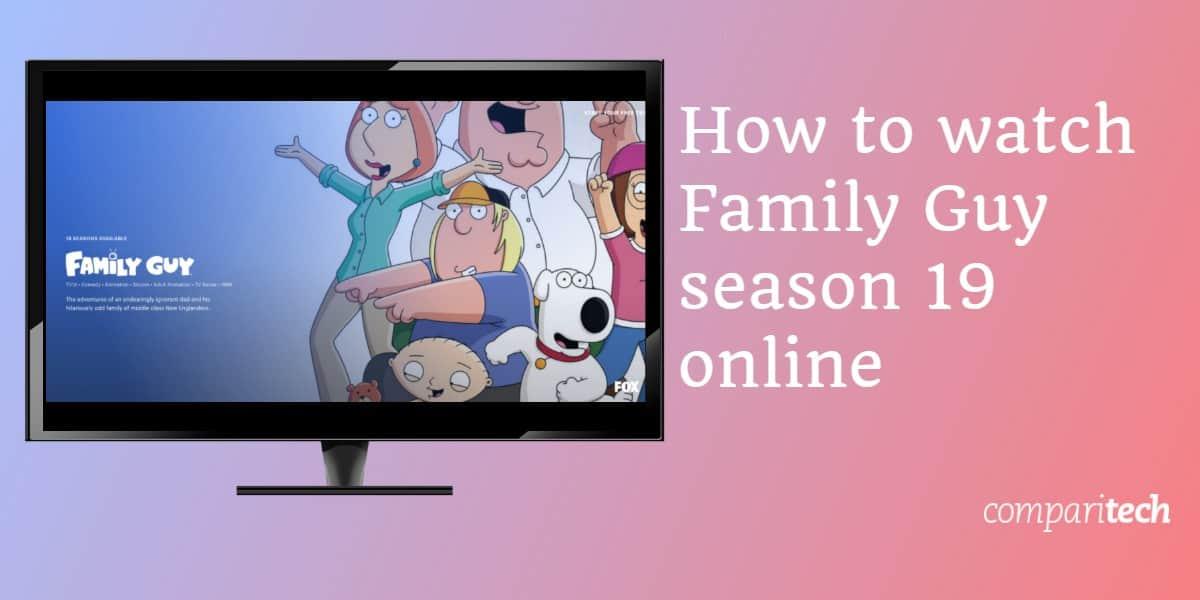 watch Family Guy season 19 online