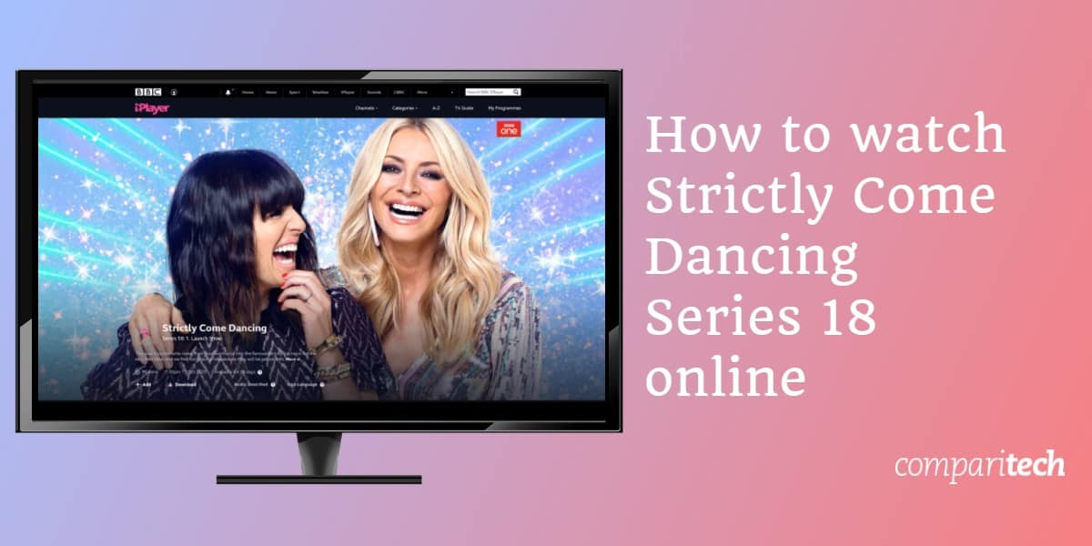 watch Strictly Come Dancing Series 18 abroad