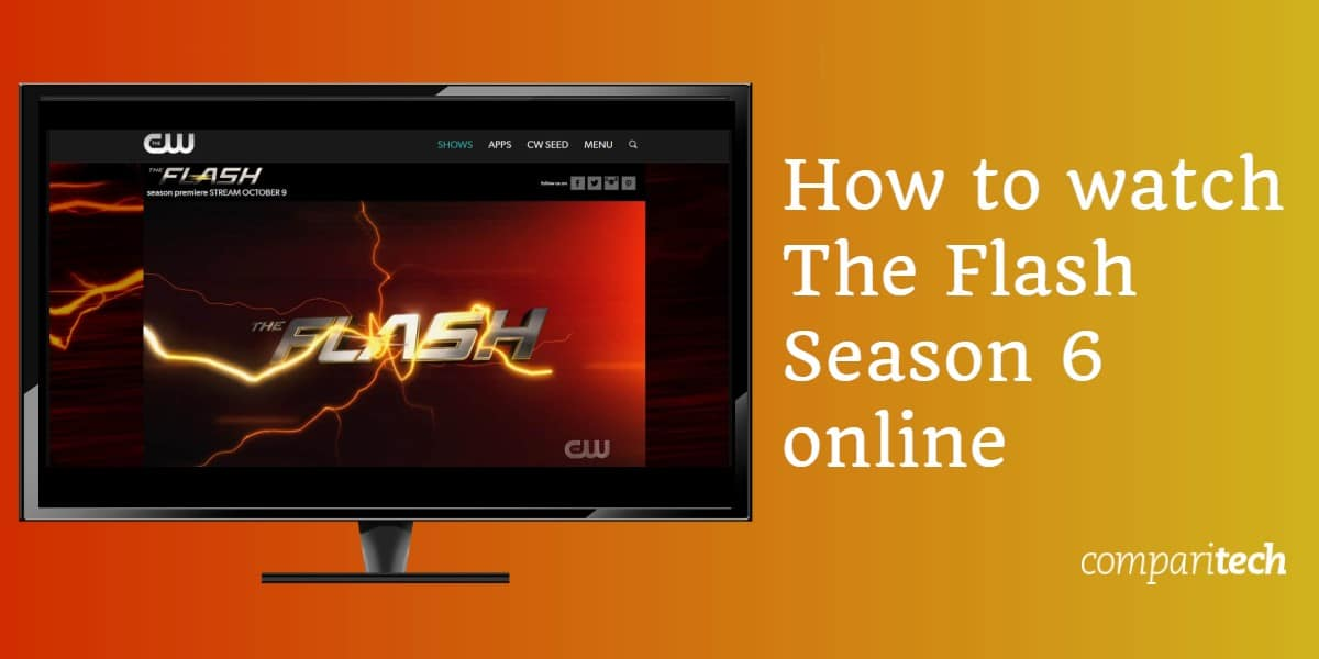 How to watch The Flash Season 6 online