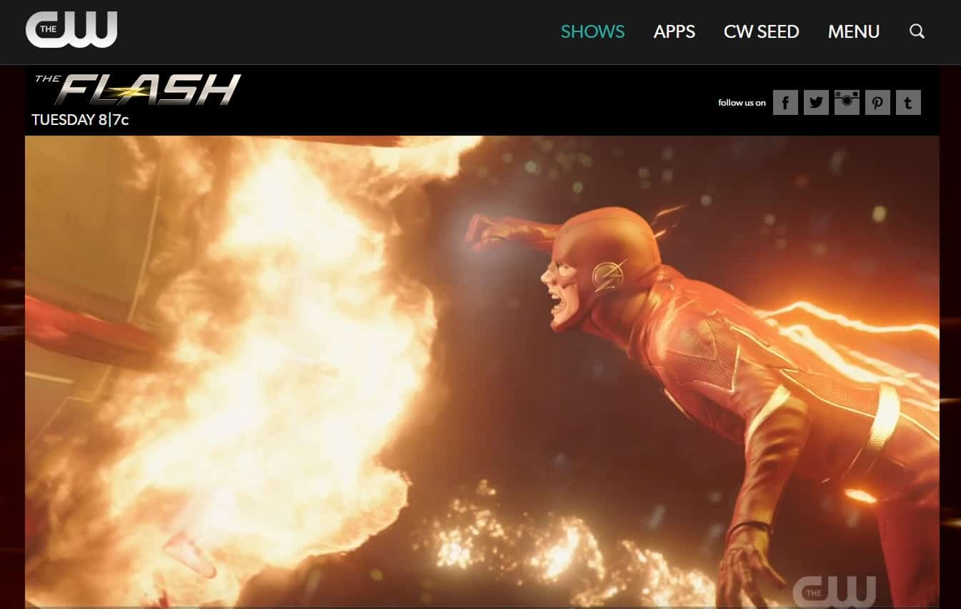How to watch The Flash live from abroad