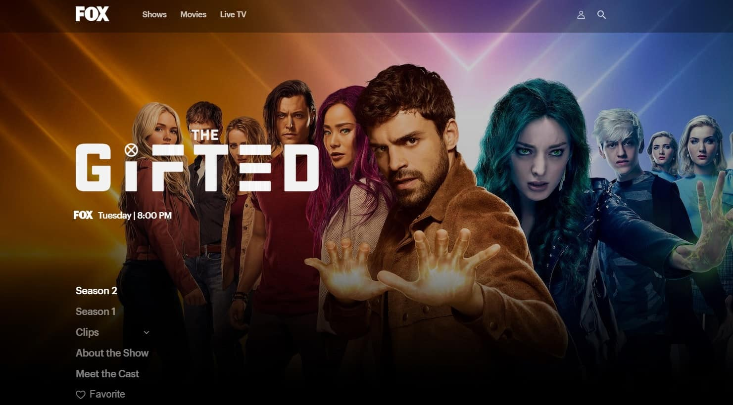 How to watch The Gifted live online
