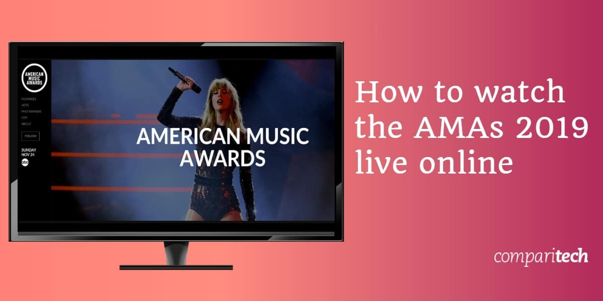How to watch the AMAs 2019 live online