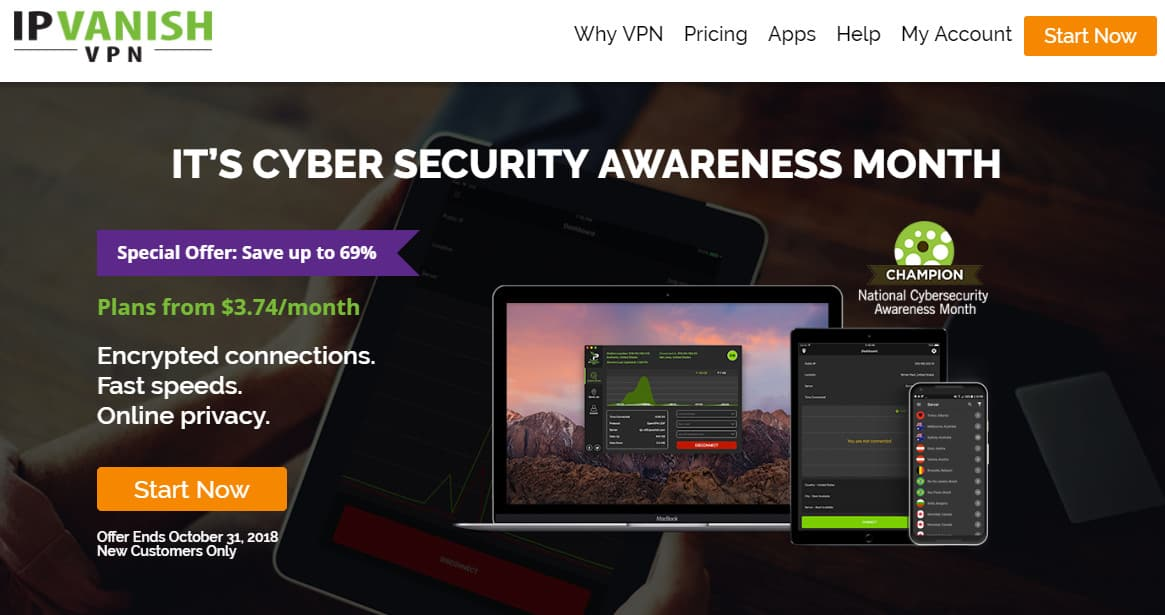 IPVanish Cyber Security