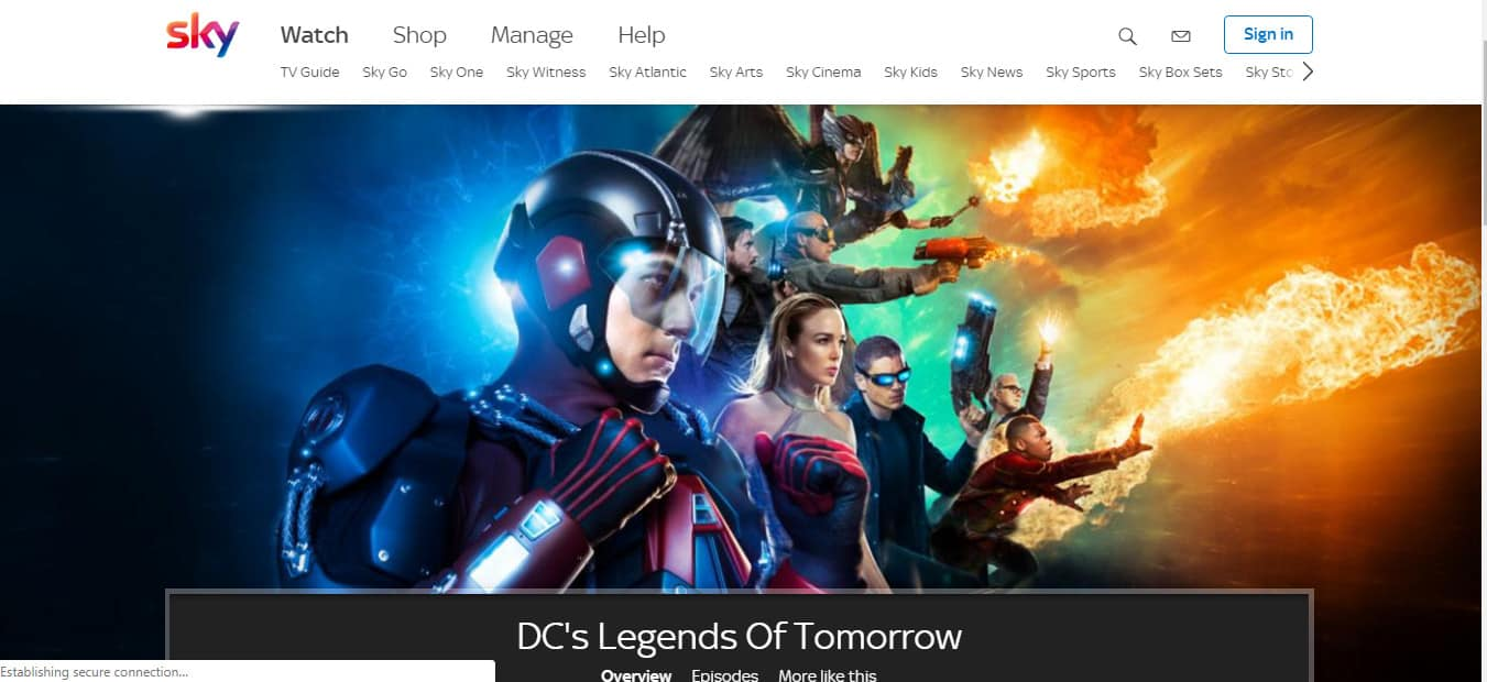 How to watch DC's Legends of Tomorrow Season 4 Online for Free