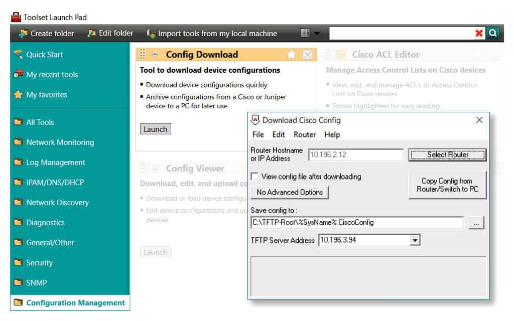 SolarWInds Engineers Toolset Image