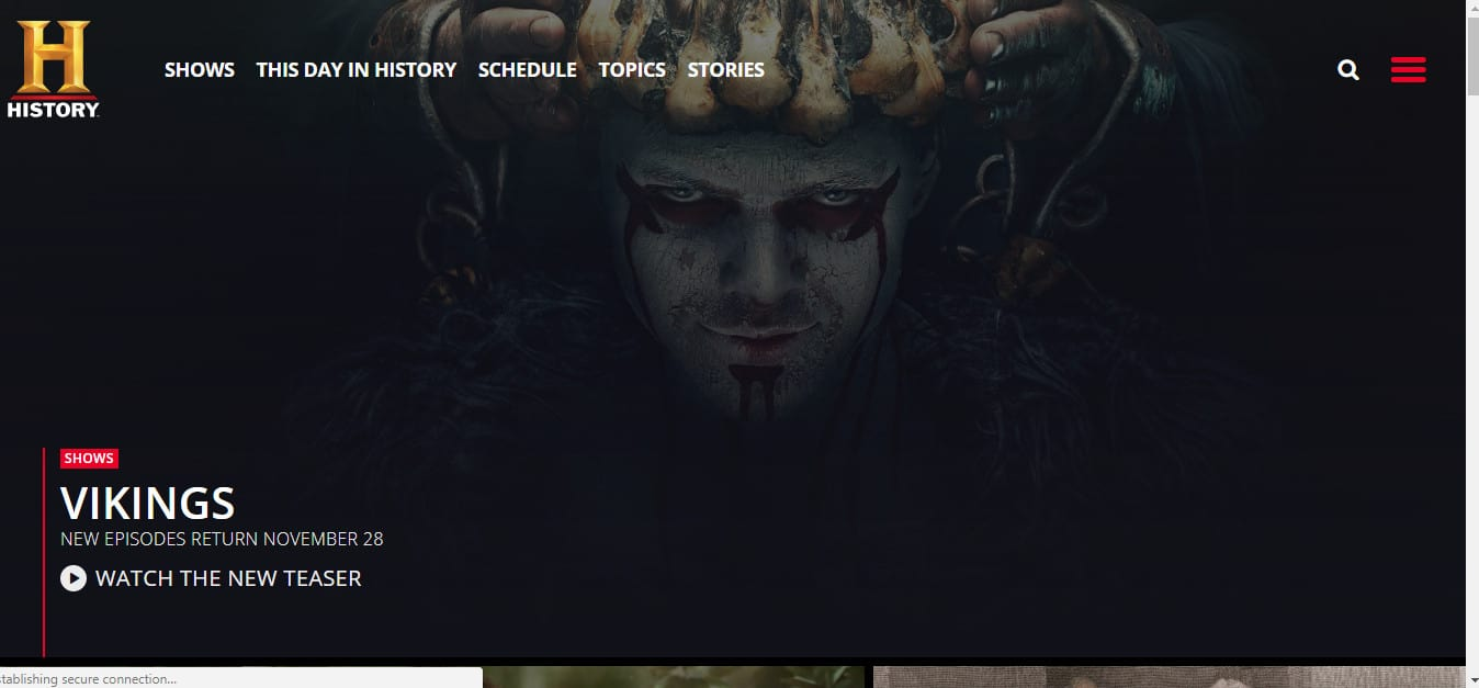 How to Watch Vikings Season 5 online abroad (outside the US)
