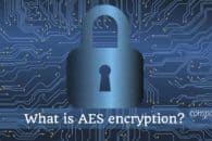 What is AES encryption and how does it work?