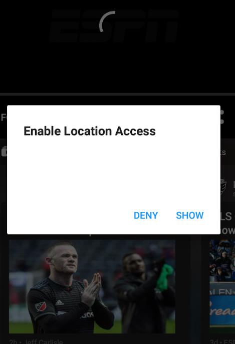 ESPN 3 blackout